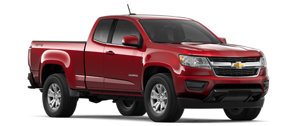 2019 2019 Chevrolet Colorado Extended Cab